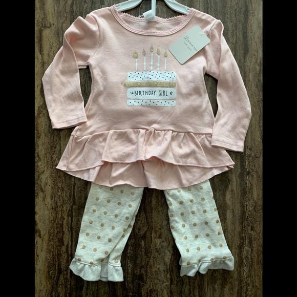 308e99170 modern baby Matching Sets | 2 Piece Birthday Girl Outfit 12mo | Poshmark